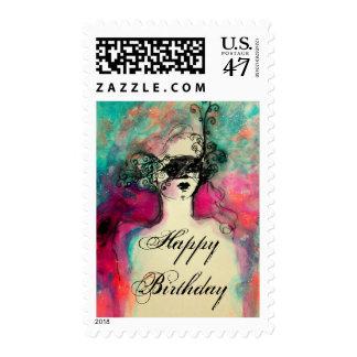 CHARM  Happy Birthday Stamp