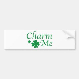 Charm Me Car Bumper Sticker