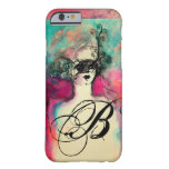 CHARM MONOGRAM BARELY THERE iPhone 6 CASE