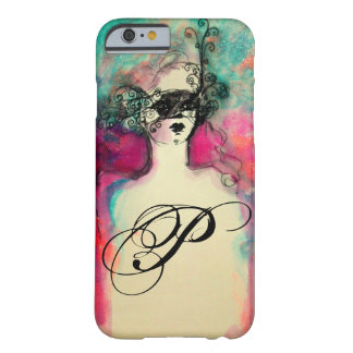 CHARM / MYSTERIOUS BEAUTY MONOGRAM BARELY THERE iPhone 6 CASE