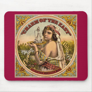 Charm of The East vintage chewing tobacco ad 1872 Mouse Pad