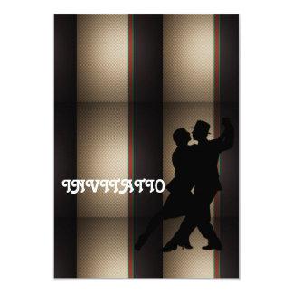 Charm Tango Latin Dance Invitation