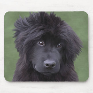 Charm the newfy pup mouse pad