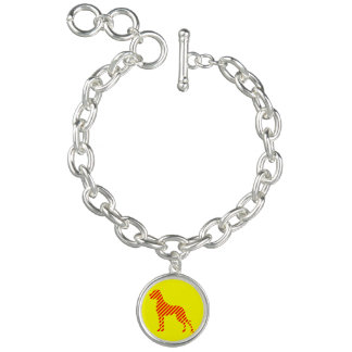 Charm with Great Danes Bracelet