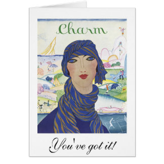 Charm: You've got it!: Fashion Birthday Card