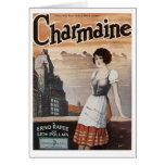 Charmaine Vintage Songbook Cover Card