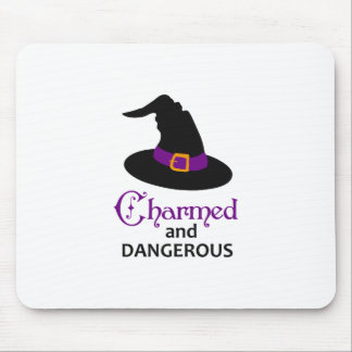 CHARMED AND DANGEROUS MOUSE PAD
