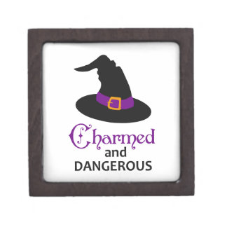 CHARMED AND DANGEROUS PREMIUM TRINKET BOXES