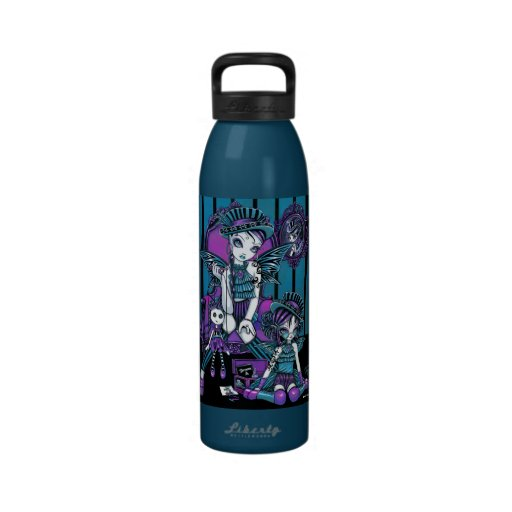 """""""Charmed"""" Couture Magical Fairies Water Bottle"""