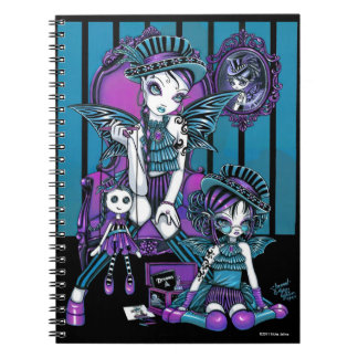 """Charmed"" Gothic Couture Magical Fairy Notebook"