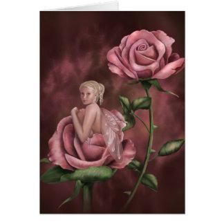 Charmed Rose Card