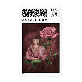 Charmed Rose Postage