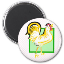 Charmer Chicken Magnet