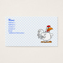 Charmichael Chicken Business Card