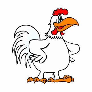 Charmichael Chicken Standing Photo Sculpture