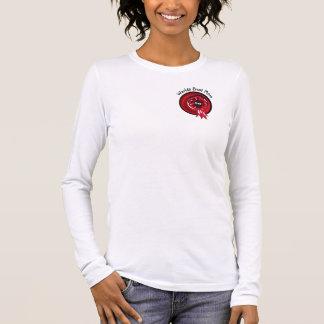 Charming 1st Place Ribbon Black Shadow T-Shirt