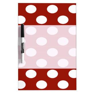 Charming adorable cheerful cute polka dots Dry-Erase board