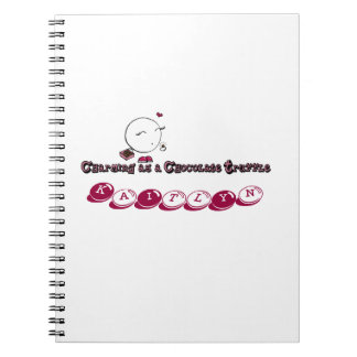 Charming as a Chocolate Truffle Notebook
