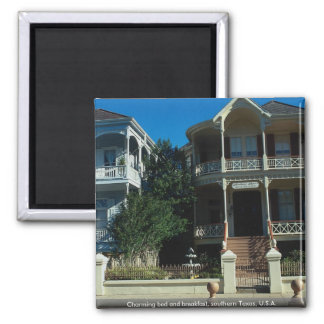 Charming bed and breakfast, southern Texas, U.S.A. Refrigerator Magnet