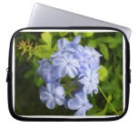 Charming Blue Flower Cluster Computer Sleeves