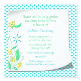 Charming Bridal Shower Invitation