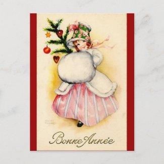 Charming Christmas Girl
