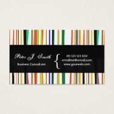 Charming Color Pop Versatile Colorful Cool Design Business Card at Zazzle