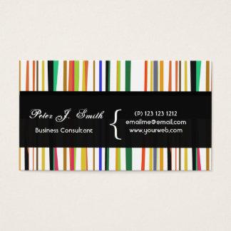 Charming Color Pop Versatile Colorful Cool Design Business Card