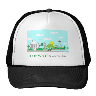 Charming Conway, SC Trucker Hat