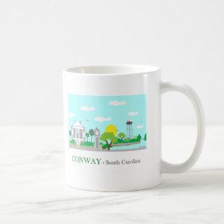 Charming Conway, SC Classic White Coffee Mug