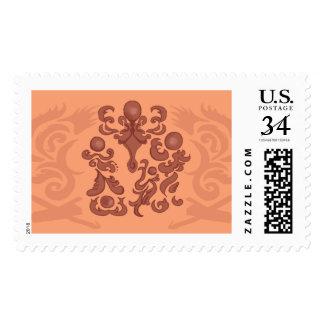Charming Copper Bonfire Stamp
