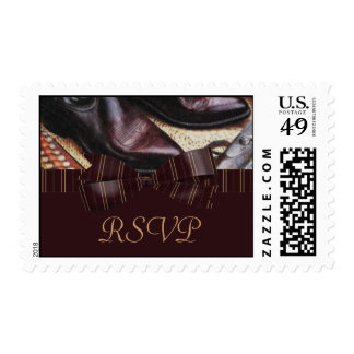Charming Country Wedding Postage Stamp