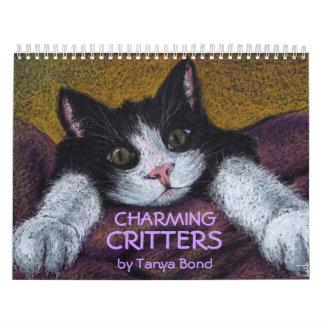 Charming Critters calendar 2013