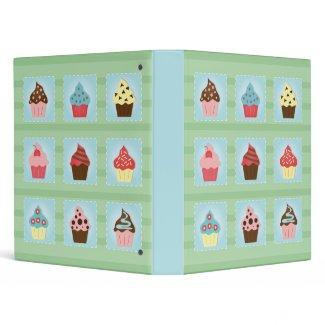 Charming Cupcakes binder