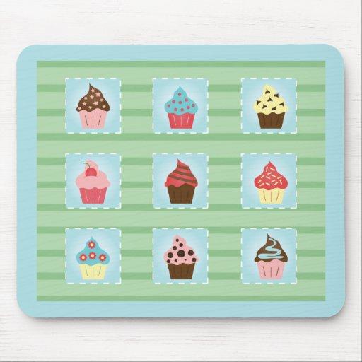 Charming Cupcakes Mousepads