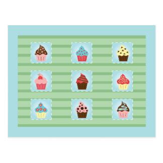 Charming Cupcakes Postcard