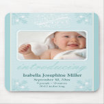 Charming Custom Vintage Mousepad :: Baby Blue