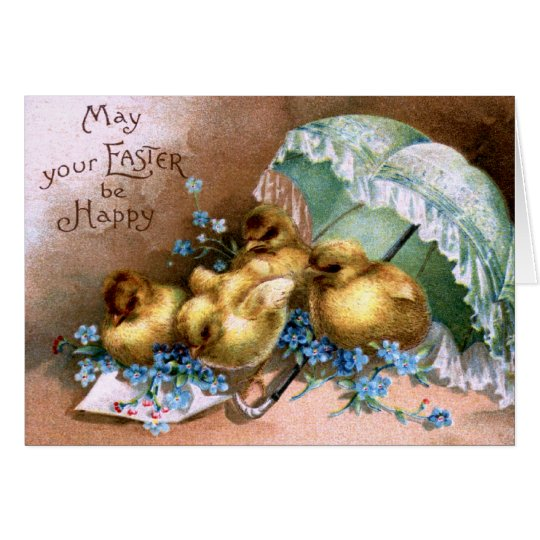 Charming Easter Chicks Card