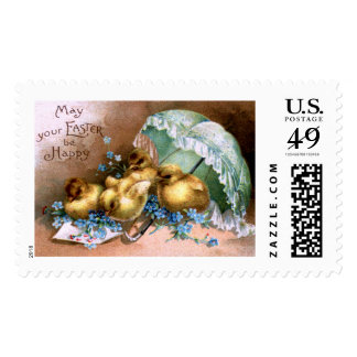 Charming Easter Chicks Postage