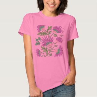 Charming French Flower Spray Shirt