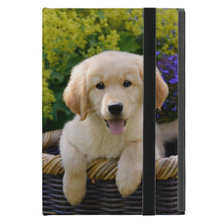 Charming Goldie Retriever Dog Puppy -  Protection Case For iPad Mini