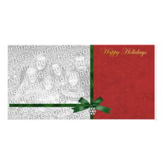 Charming Holidays Photo Template Photo Card