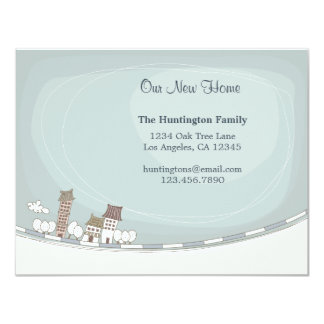 Charming Home Moving Announcement