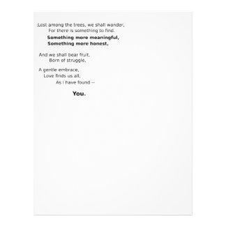 Charming Keepsakes Personalized Letterhead