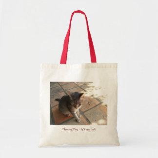 Charming Kitty Budget Tote Bag