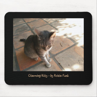 Charming Kitty Mouse Pad