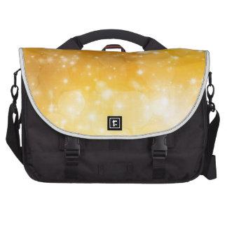 Charming light,golden bags for laptop