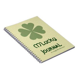 Charming Lucky Clover Notebooks