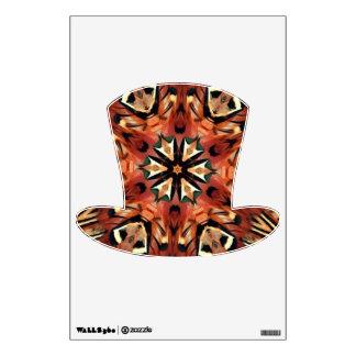 Charming Pheasant Feather Mandala Wall Sticker