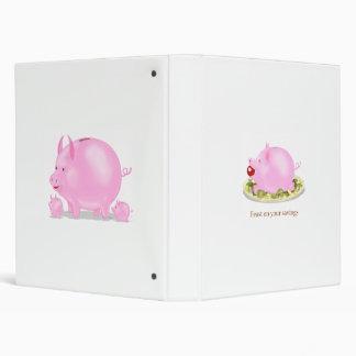Charming Piggy Banks Binder